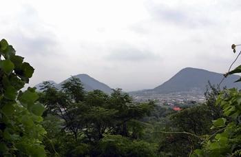 法然寺からの景色
