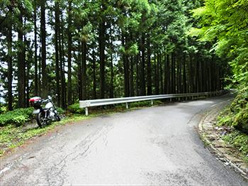 国道438号線から剣山まで5km