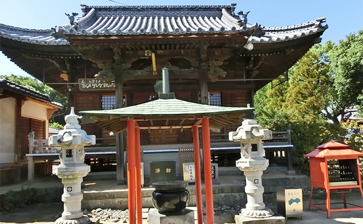 第79番札所 金華山 高照院 天皇寺・本堂