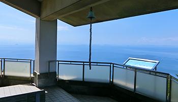 香川県・紫雲出山の展望台