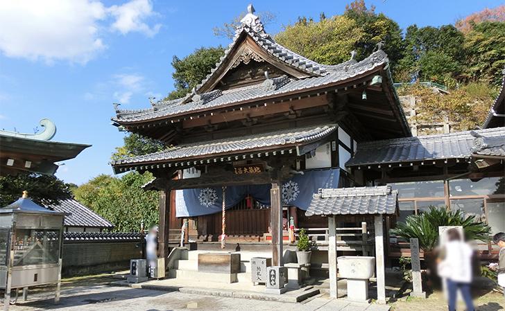 四国八十八カ所霊場第56番泰山寺・本堂