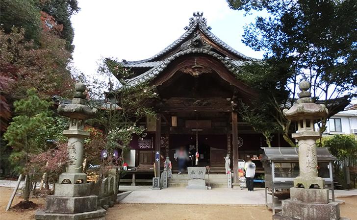 四国八十八カ所霊場第58番仙遊寺・本堂