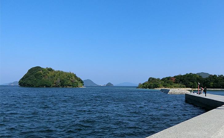 諏訪大島・真宮島(しんぐうじま)