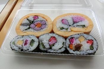 道の駅ふれあいパークきみつ・飾り巻き寿司