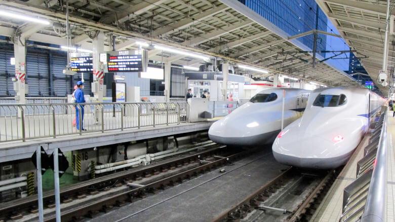 東京駅の新幹線乗り場