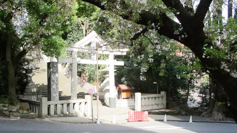 東京都千代田区永田町にある日枝神社の表参道