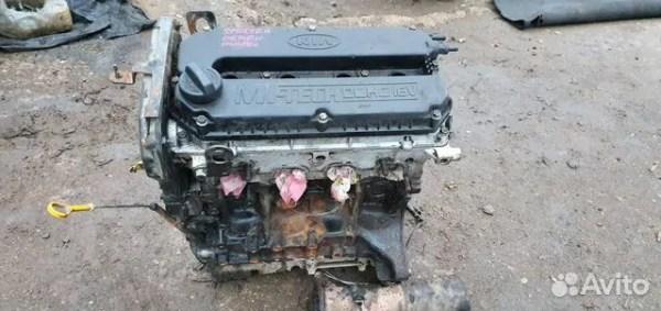 Двигатель kia spectra 1.6 16v s6d киа спектра 101 купить в ...