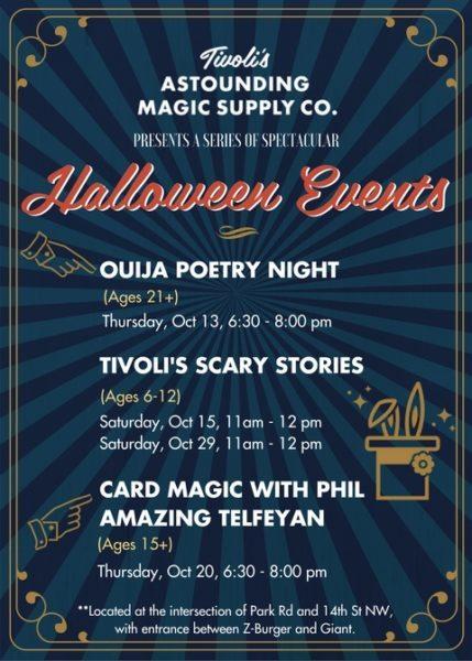 Halloween Store Events