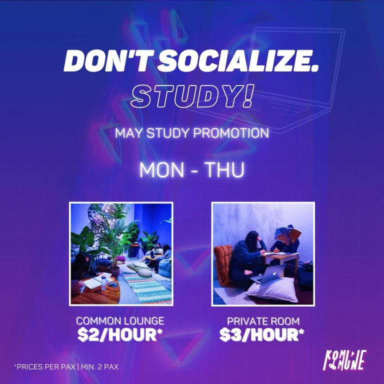 May –June Work/Study Promotion