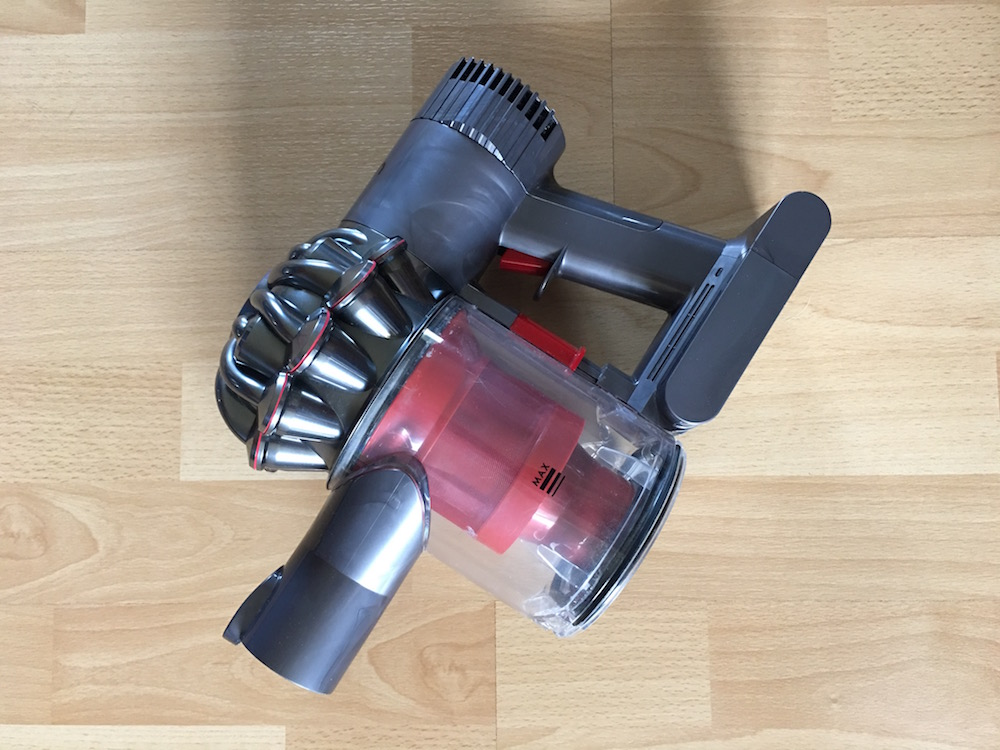 Review dyson v6 total clean 83 unsung heroes for Dyson motor replacement cost