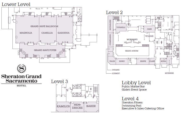 Sacramento Event Space Floor Plans