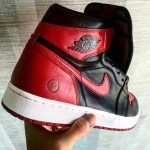 "【噂】fragment design x Air Jordan 1 ""Bred"" 6月発売?"