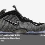 "6月9日発売 Nike Foamposite Pro ""Fleece"""