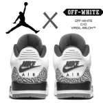 5月発売予定 OFF-WHITE X AIR JORDAN 3 OG