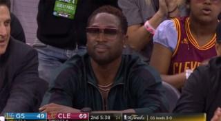 ウェイド NBAファイナル 2017年 観戦