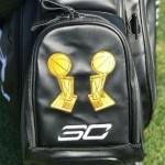 ステフィン・カリーのゴルフバッグがオシャレ!