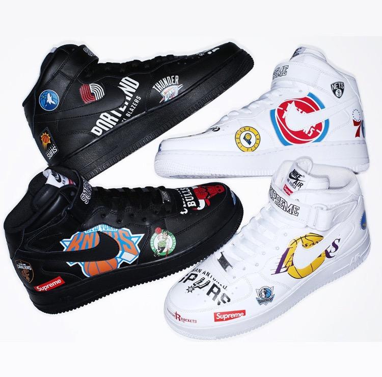 シュプリーム ナイキ NBA コレクション