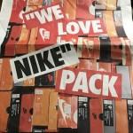 """アトモス """"WE LOVE NIKE"""" 新聞発行!"""