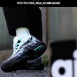 9月15日(土)リストック!アトモス x ナイキ エア マックス95 WE LOVE NIKE ジェイドカラー