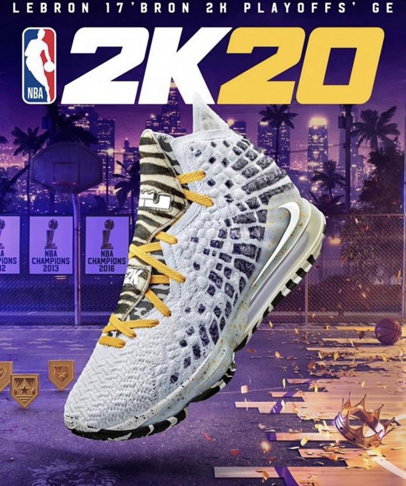 NBA 2K20 ナイキ レブロン17 ブロン 2K プレイオフ GE