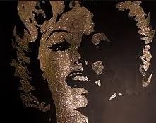 animation glitter painting