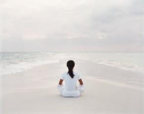 58. Yoga on COMO Cocoa Island Sand Bank 1