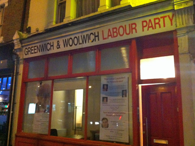 Greenwich Labour offices
