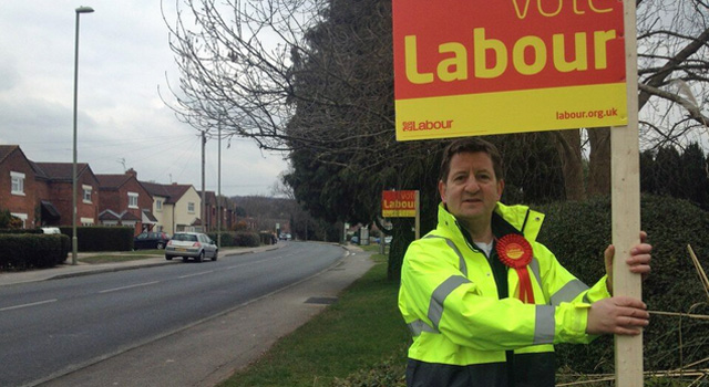 Mark Adams at the Eastleigh by-election