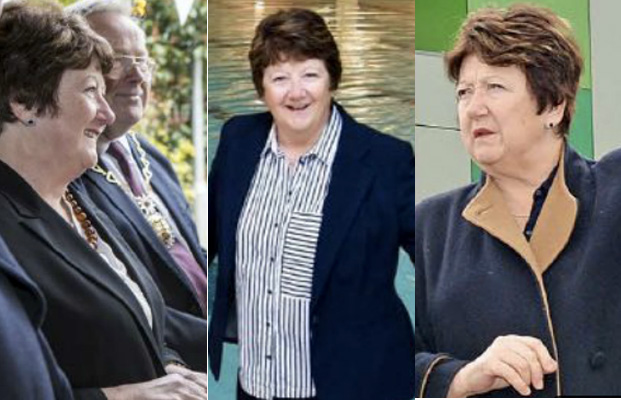 Images of Greenwich Council leader Denise Hyland feature three times in this week's Greenwich Time, the last before the council has to abide by strict election impartiality rules