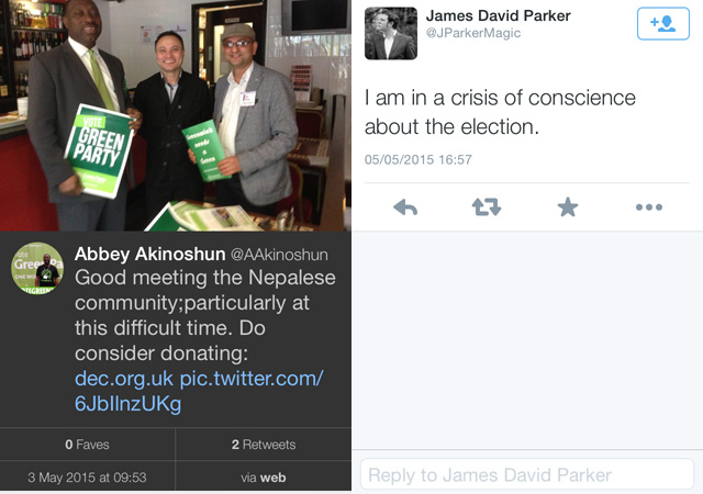 Abbey Akinoshun's deleted tweet and James Parker's election doubts