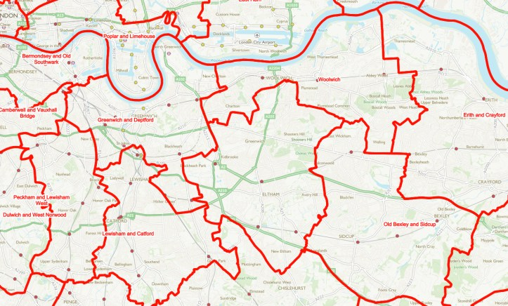 Boundary Commission proposals