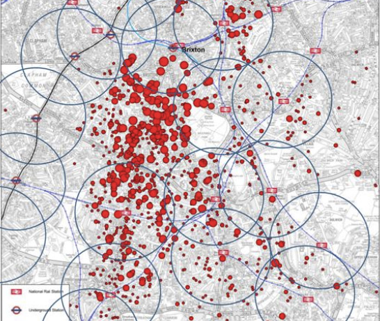 Brixton: TfL's customer data means it knows where commuters are coming from