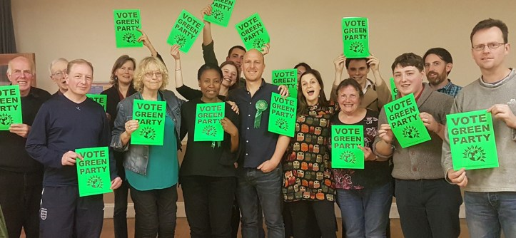 Green Party activists