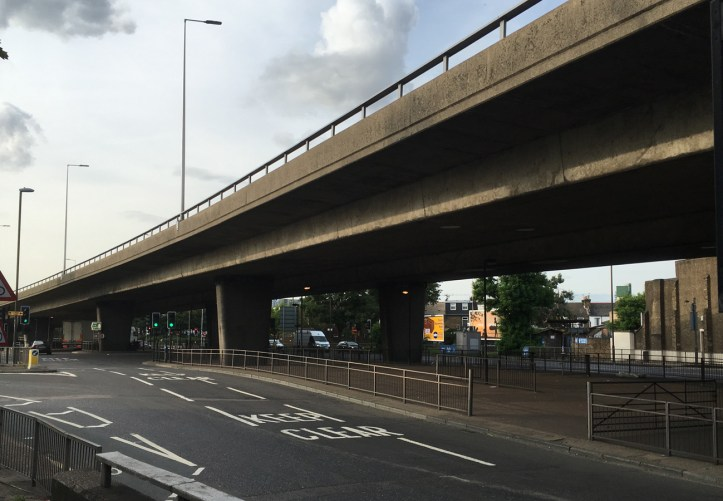 Woolwich Road flyover