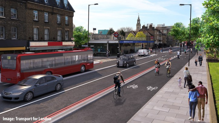 Jamaica Road TfL visualisation