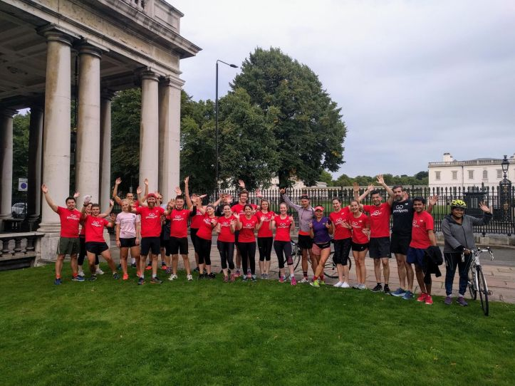 Greenwich GoodGym at Old Royal Naval College