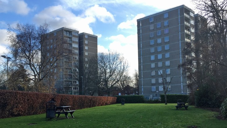 Shenfield House and Brentwood House, Woolwich