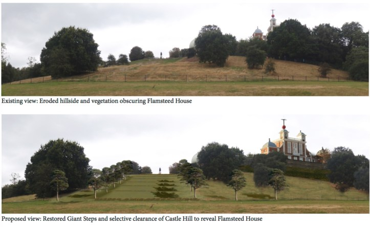 Royal Parks' before and after
