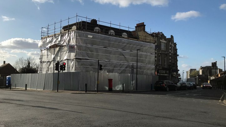 King's Arms ready for demolition