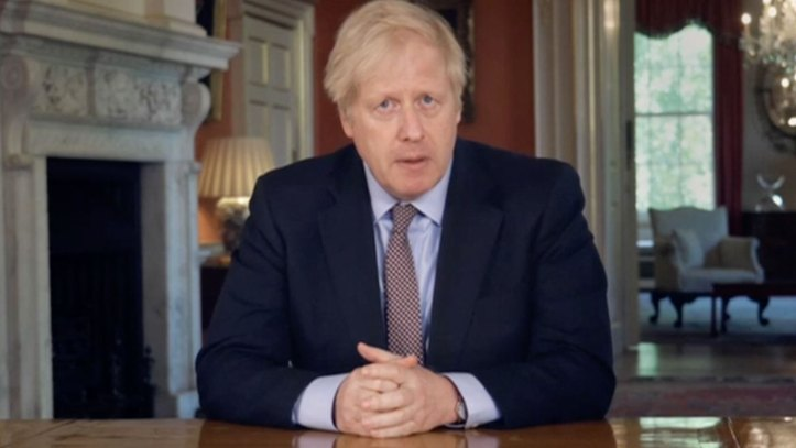 Boris Johnson's TV broadcast