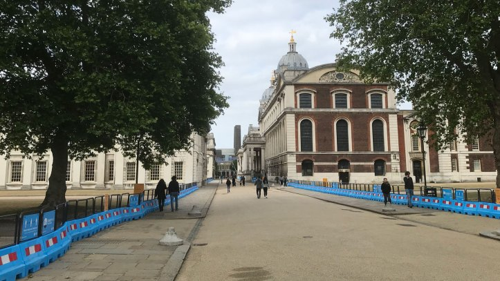 Old Royal Naval College path