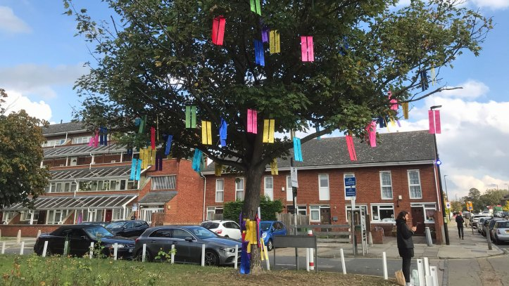 Residents Rainbow tree