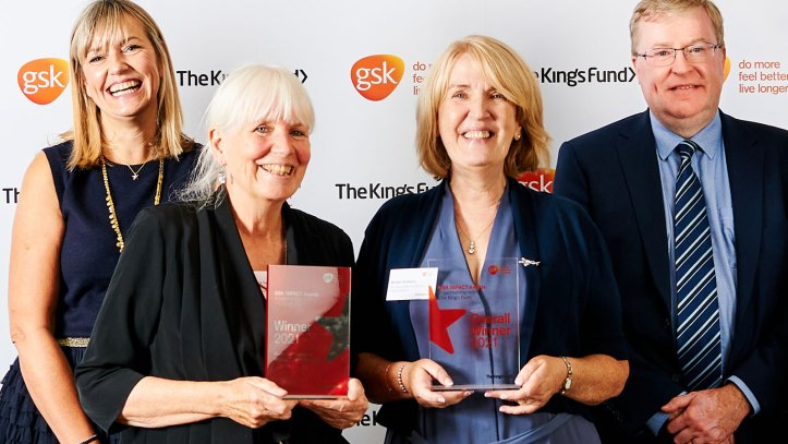 Katie Pinnock (Director of UK Charitable Partnerships at GSK),   ·       Miriam Donaghy (Founder and CEO of MumsAid)  ·       Jill Thompson (Chair of of MumsAid)  ·       Richard Murray (Chief Executive of The King's Fund)
