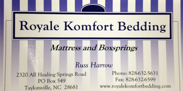 Royale Comfort Bedding