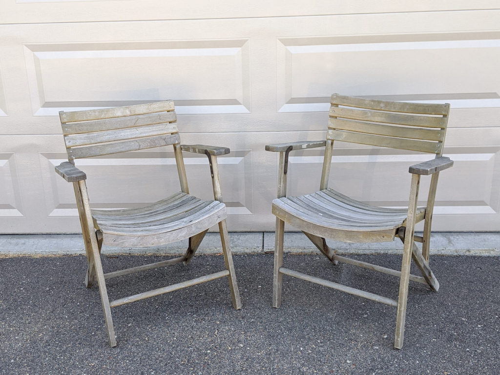 How To Paint Outdoor Patio Furniture In 4 Easy Steps And How To Build A Plant Wall The Handcrafted Haven