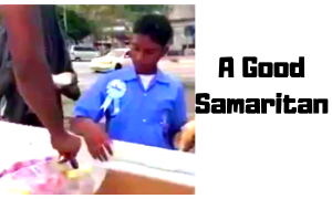 Teenager feeds poor on his birthday, people get mad…