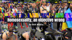 Why Homosexuality is objectively wrong