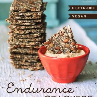 Endurance Crackers (vegan, gf)