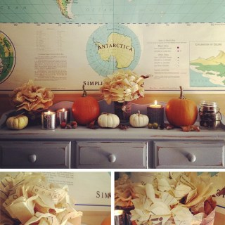 around the house { fall decor }