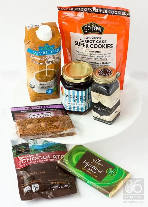 Vegan Food Swap Package  86lemons.com